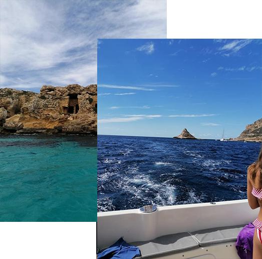 Isole Egadi | Tilla II | Escursioni Isole Egadi